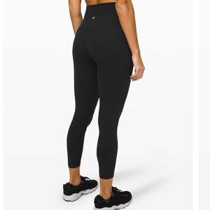 """Lululemon Align Pant II 25"""" Black Size 4"""